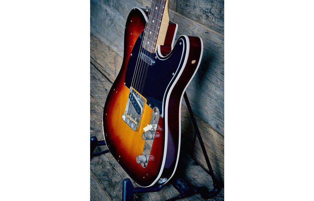 Fender Jason Isbell Custom Telecaster, Rosewood, 3-color Chocolate Burst