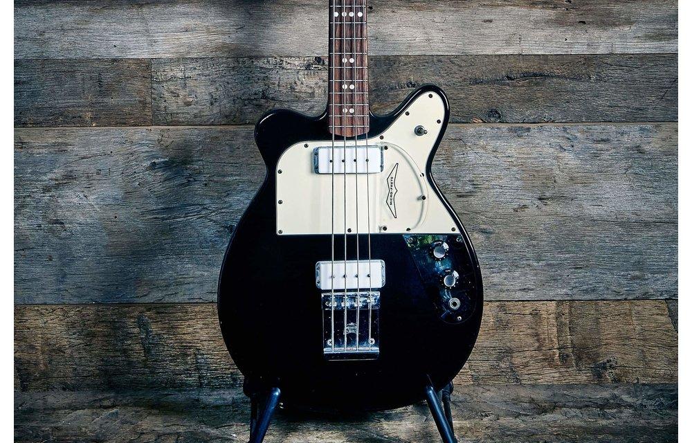 Micro-Frets Husky Bass 1970s Black