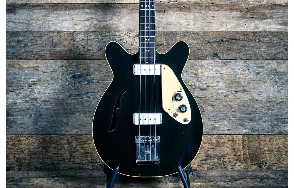 Micro-Frets ThunderMaster Bass 1960s Black