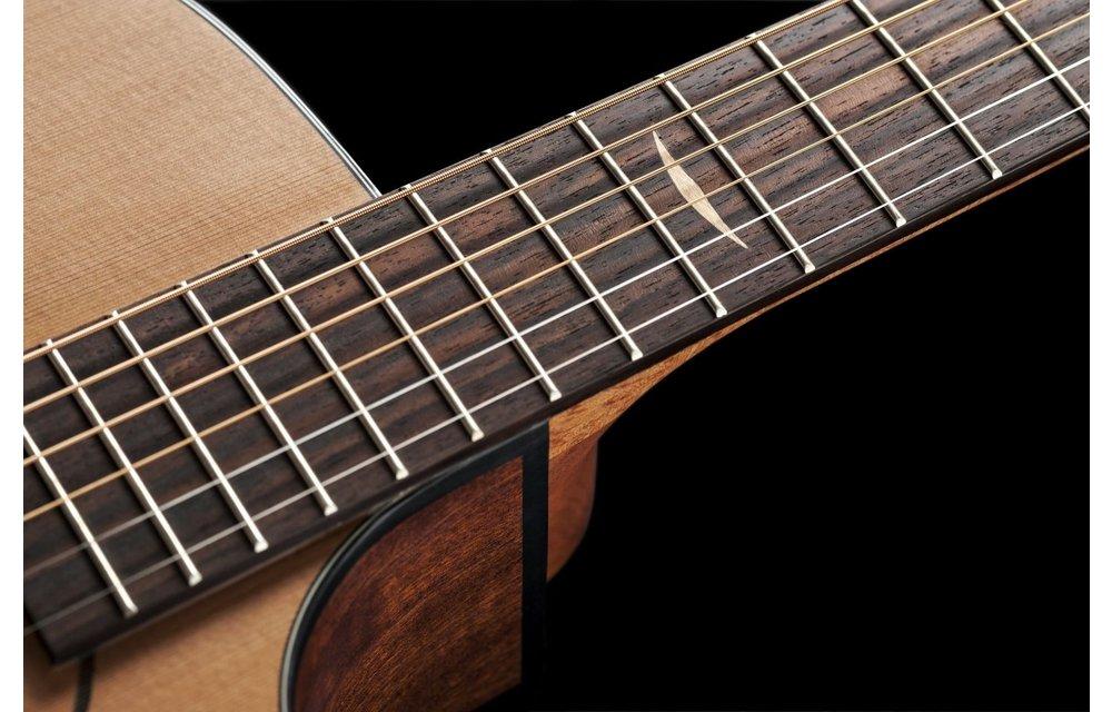Baton Rouge AR11C/ACE-W Cedar/Mahogany Wide-Neck Auditorium Cutaway Electric Acoustic Guitar