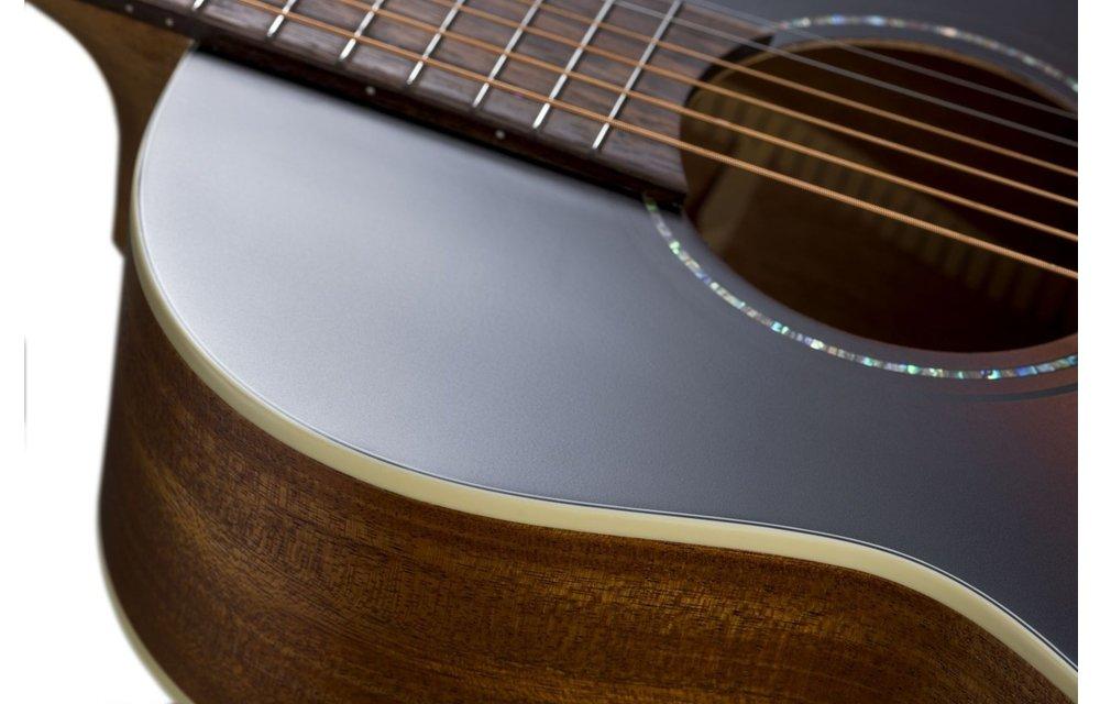 Baton Rouge X11S/P-CHB Spruce/Mahogany Parlour Acoustic Guitar, Chocolate Burst Satin