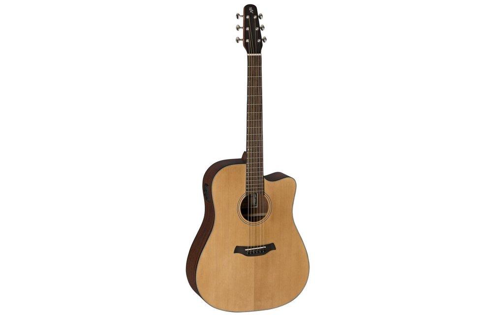 Baton Rouge L1LS/DCE Spruce/Mahogany Dreadnought Electric Acoustic Guitar w/Cutaway