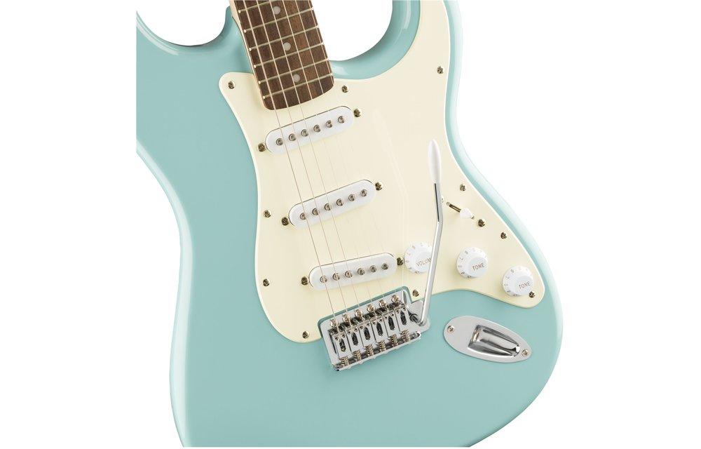 Squier Bullet Stratocaster, Laurel Fingerboard, Tropical Turquoise