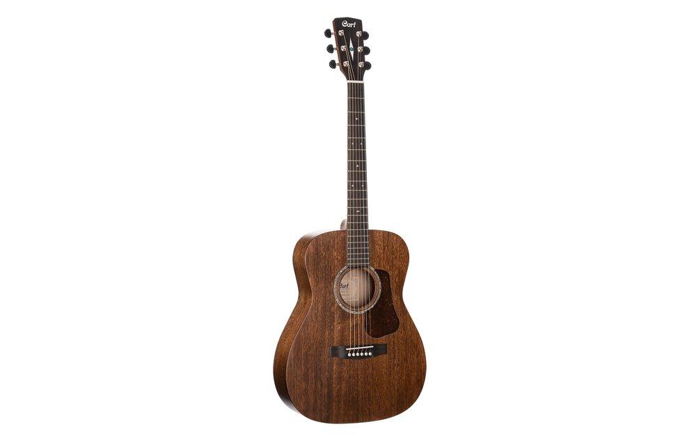 Cort L450C Natural Satin All Mahogany Grand Concert size Acoustic Guitar