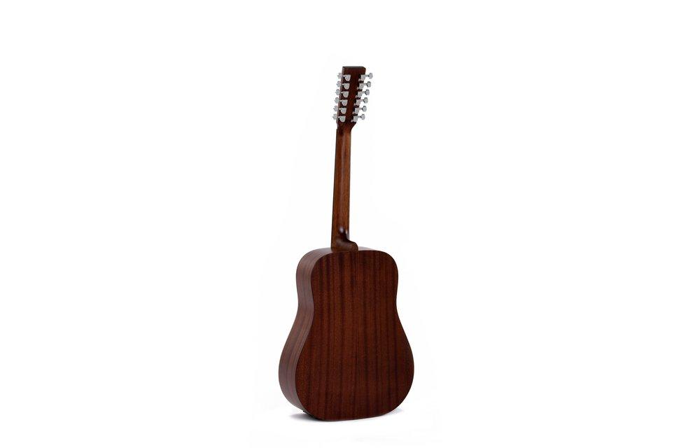 Sigma DM12E Dreadnought 12-String Electric Acoustic Guitar