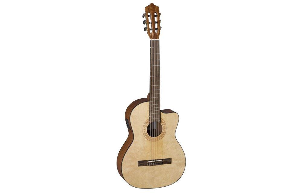 La Mancha Rubinito LSM/63-CEN: 7/8 Size Classical Guitar w/Pickup