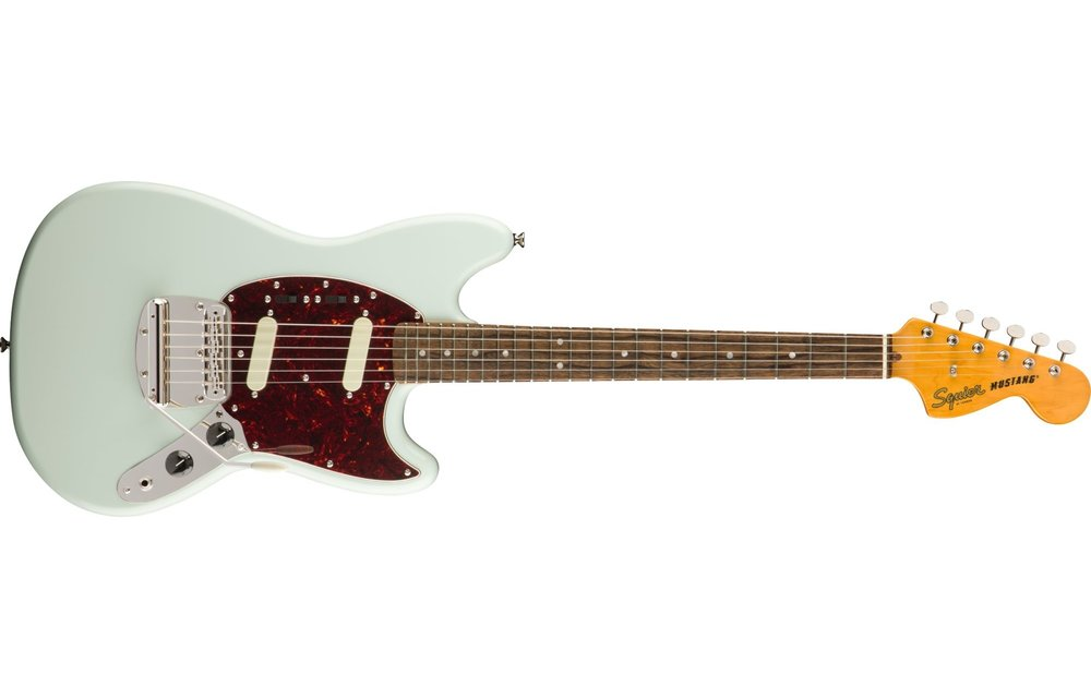 Squier Classic Vibe '60s Mustang, Laurel Fingerboard, Sonic Blue