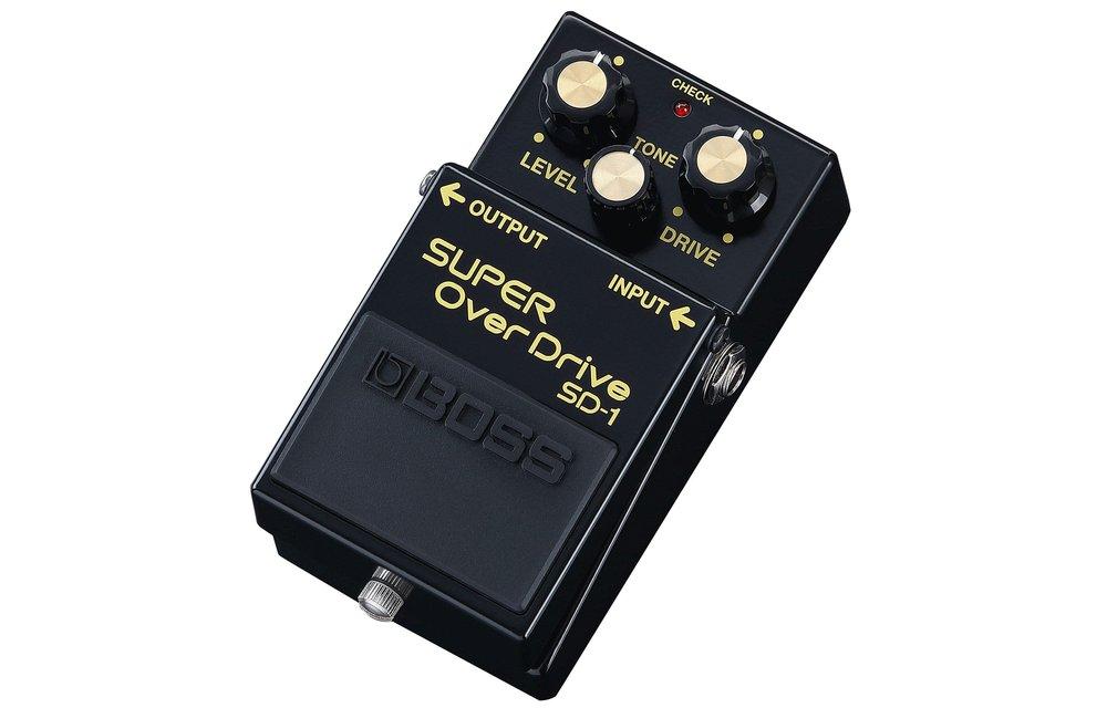 BOSS SD-1 Super Overdrive, 40th Anniversary Edition