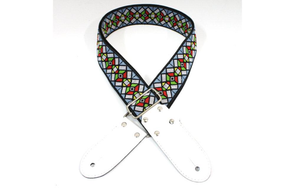 DSL Guitar Strap, Jacquard Weaving, Haze