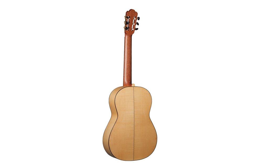 Altamira Torres I: Solid Spruce/Maple Classical Guitar, Matte Finish