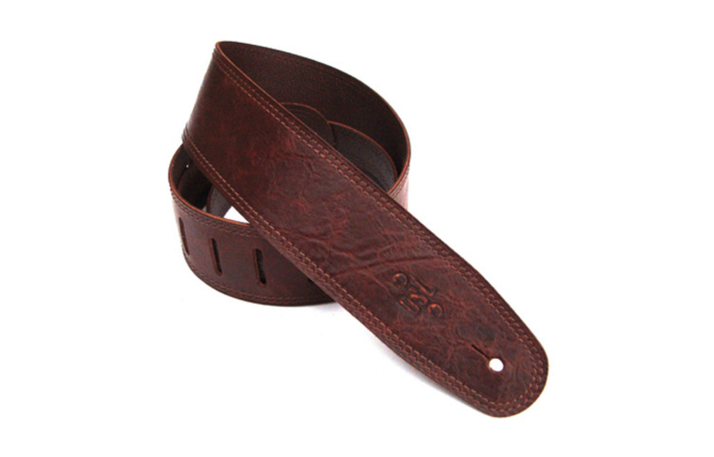 DSL Guitar Strap, 2.5 inches, Distressed Brown