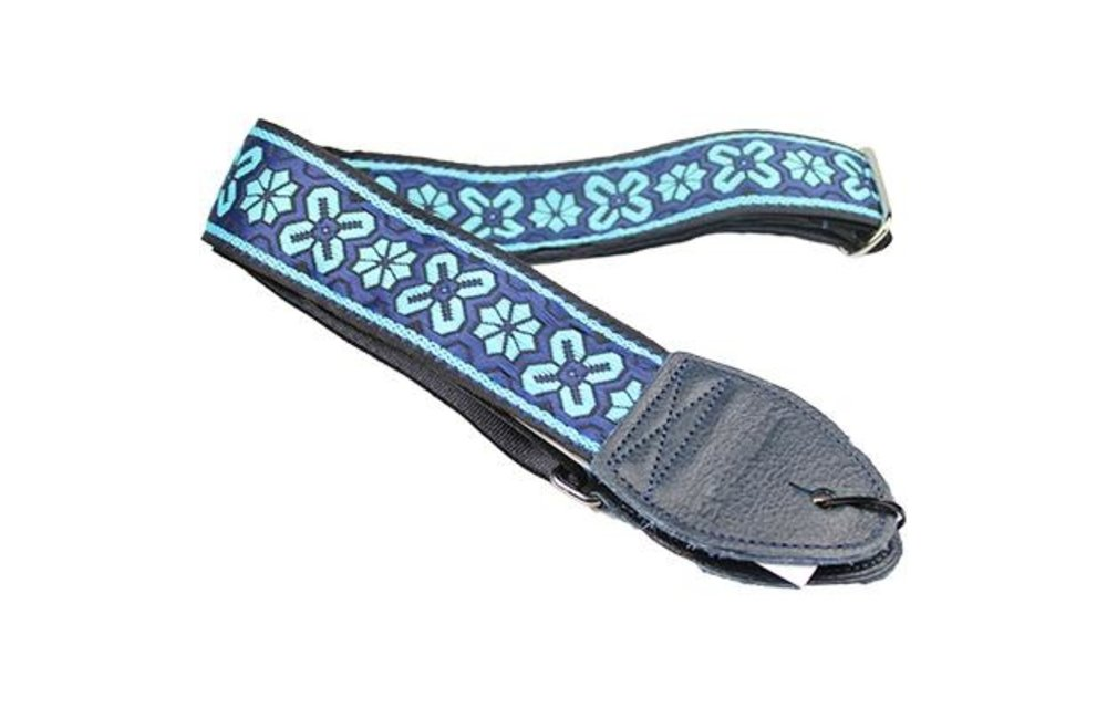 Souldier Guitar Strap, Greenwich Navy and Blue