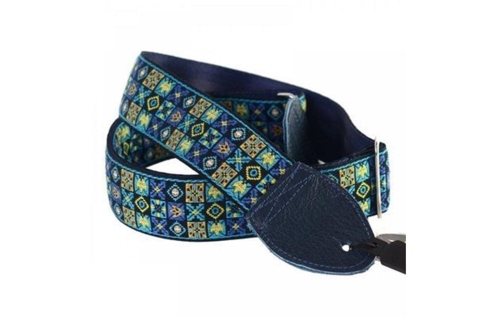 Souldier Guitar Strap, Woodstock Blue