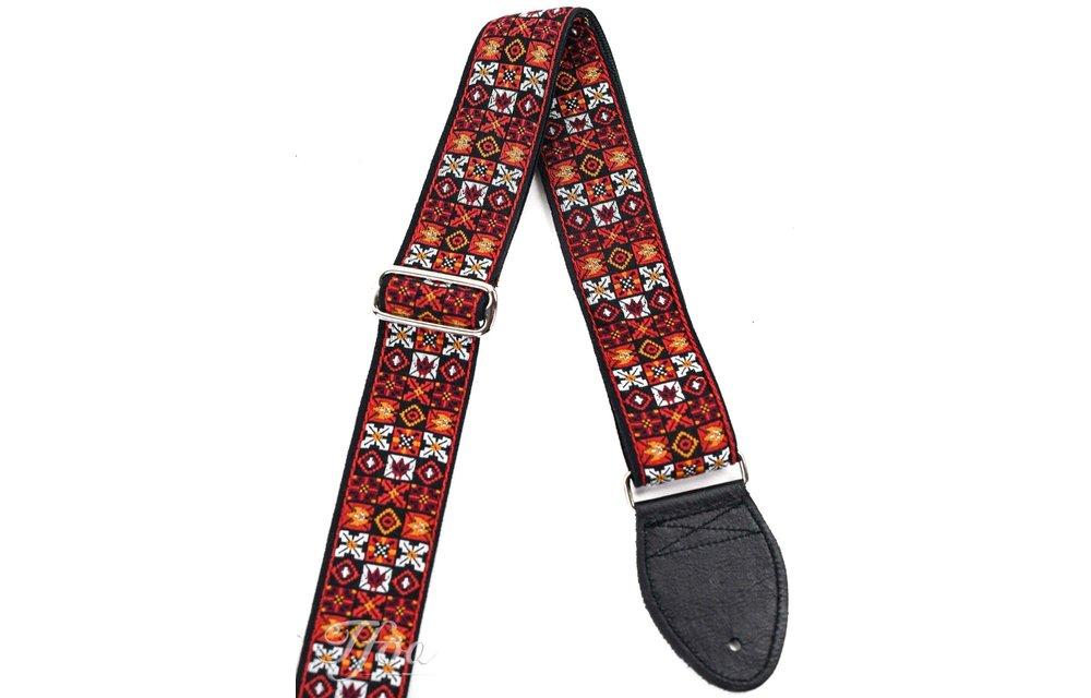 Souldier Guitar Strap, Woodstock Red