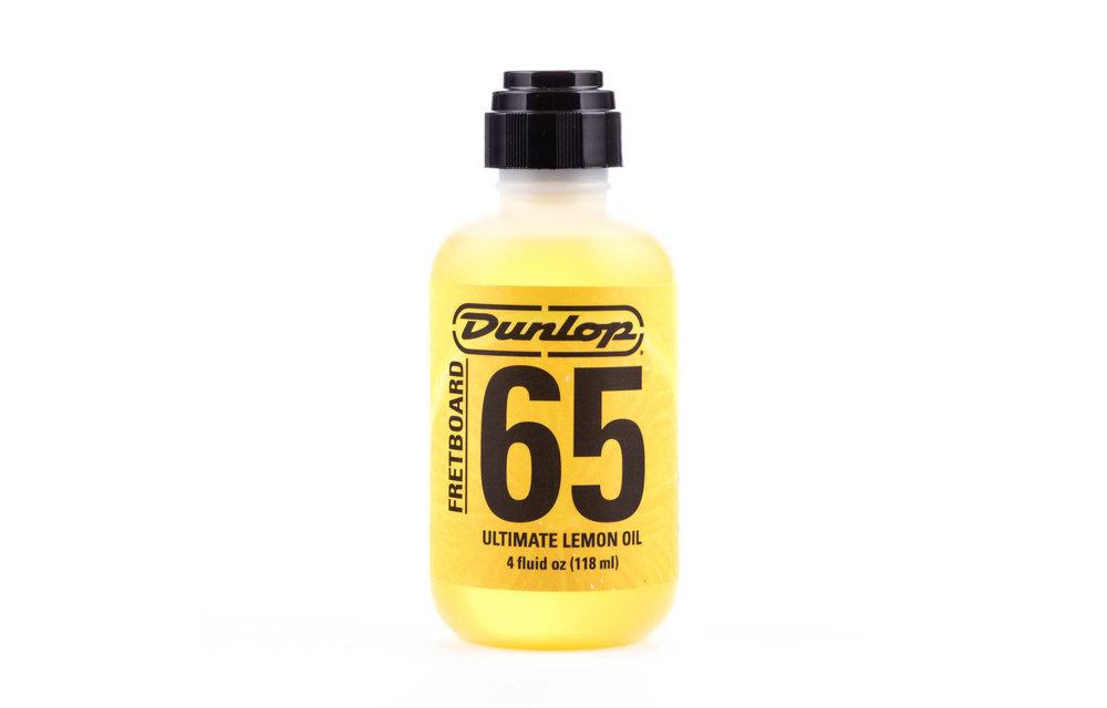 Dunlop Fretboard 65 Ultimate Lemon Oil, 118mL