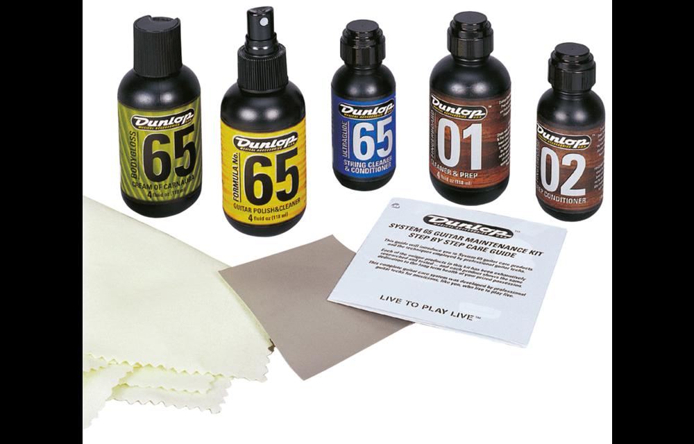 Dunlop System 65 Complete Guitar Maintenance Gift Pack