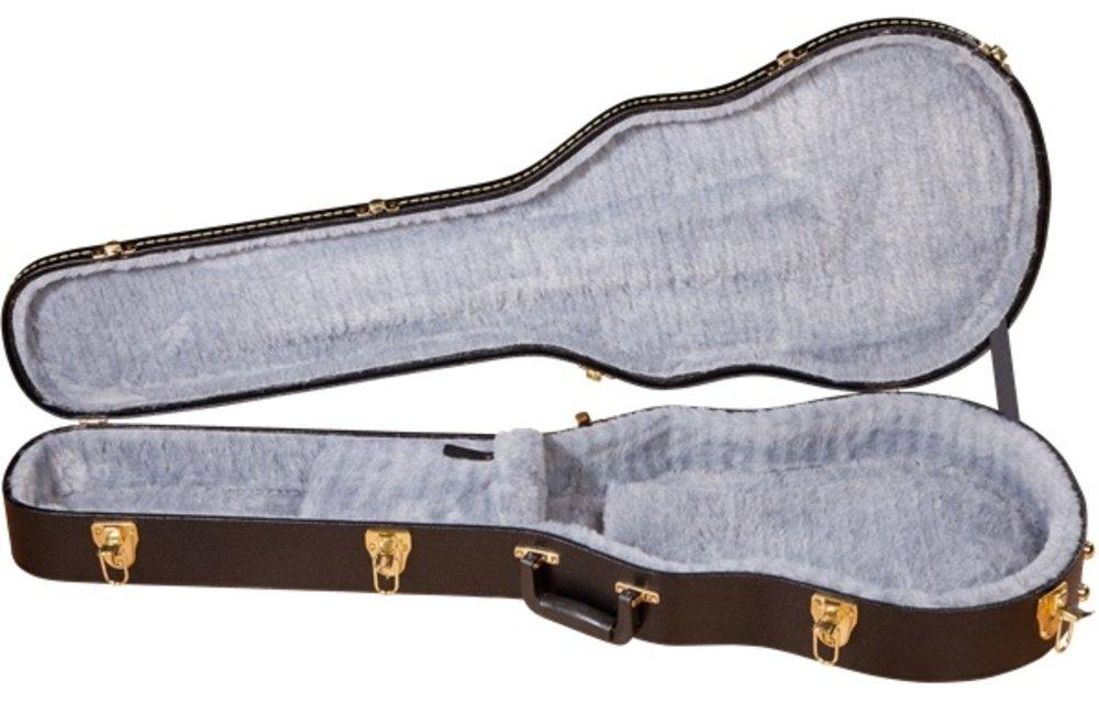 Gretsch G6238FT Solid Body Flat Top Hardshell Case, Black