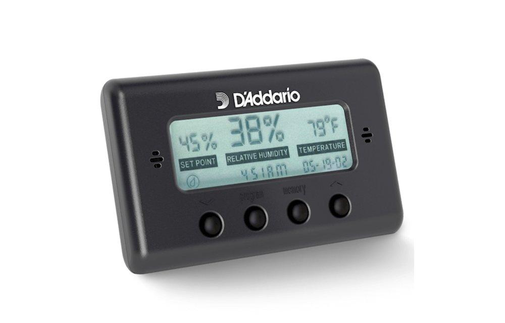 D'Addario Hygrometer Humidity & Temperature Sensor