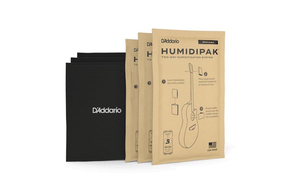D'Addario Humidipak Restore - Two-Way Humidification Control System