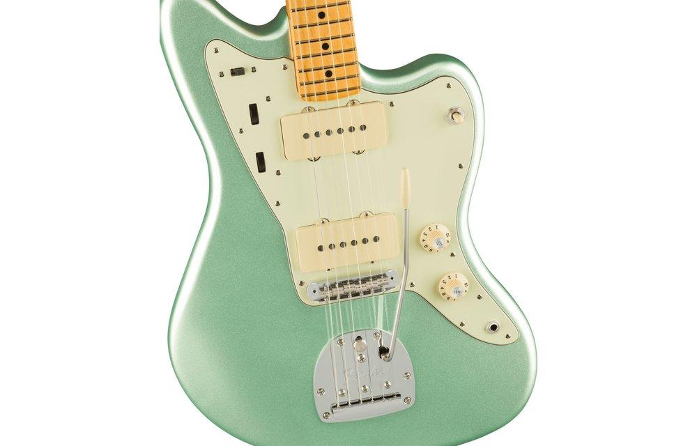 Fender American Professional II Jazzmaster, Maple Fingerboard, Mystic Surf Green