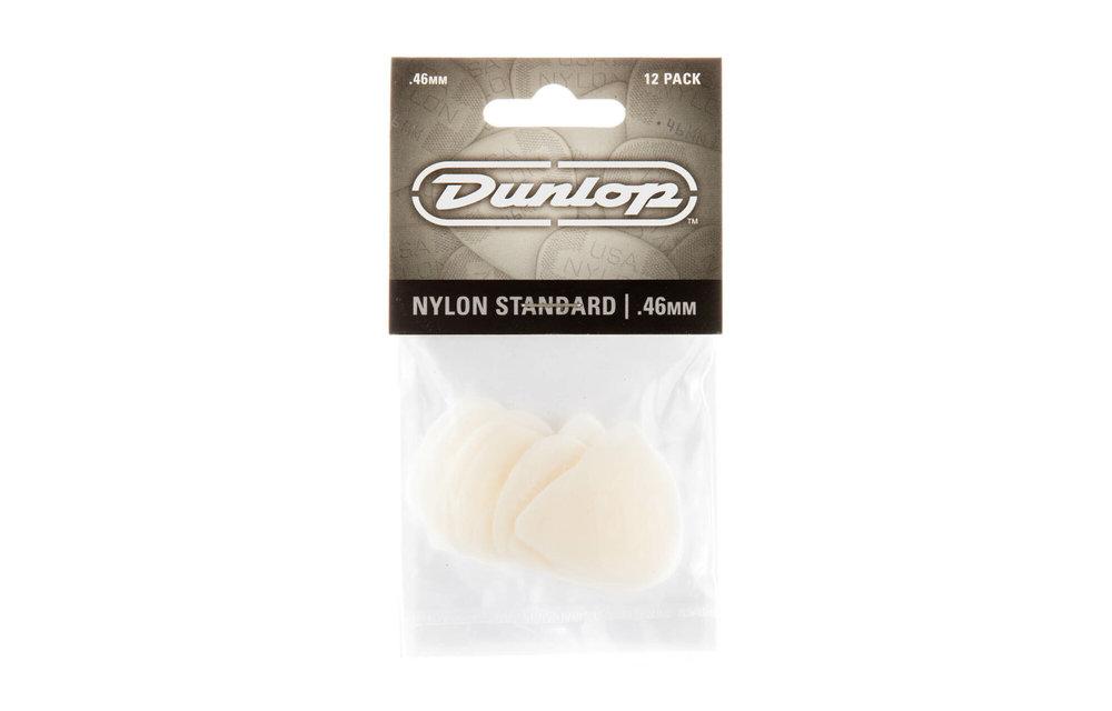 Dunlop Nylon Greys, 12 Pack Picks