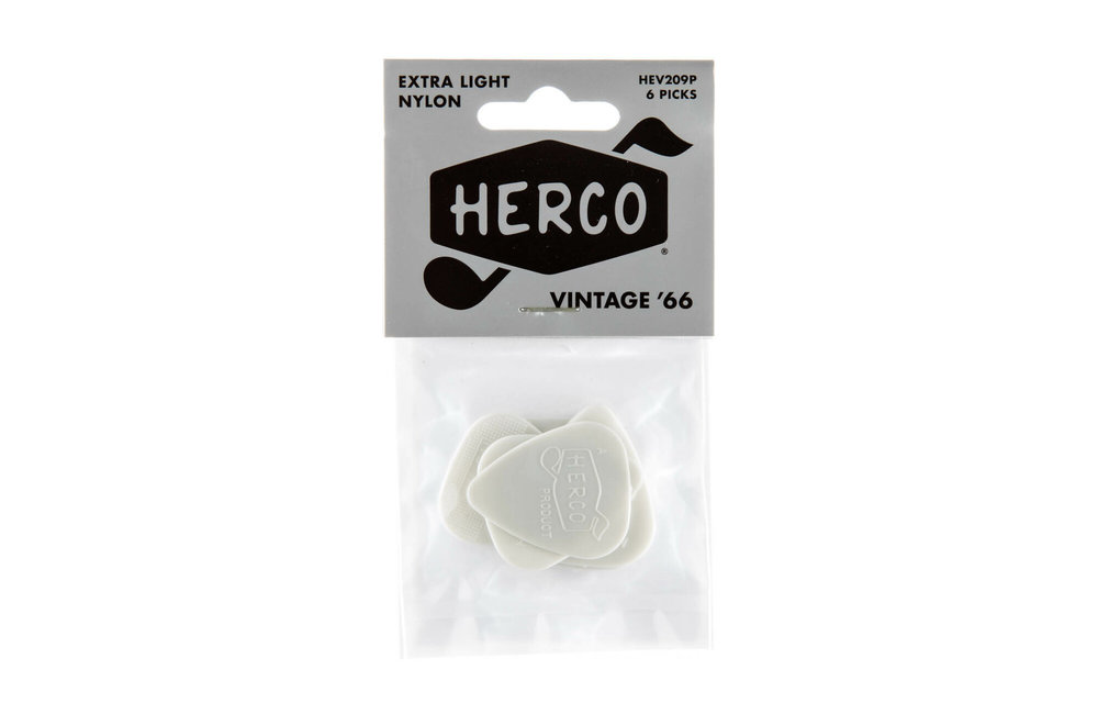 Herco Vintage '66 Nylon, 6 Pack Picks