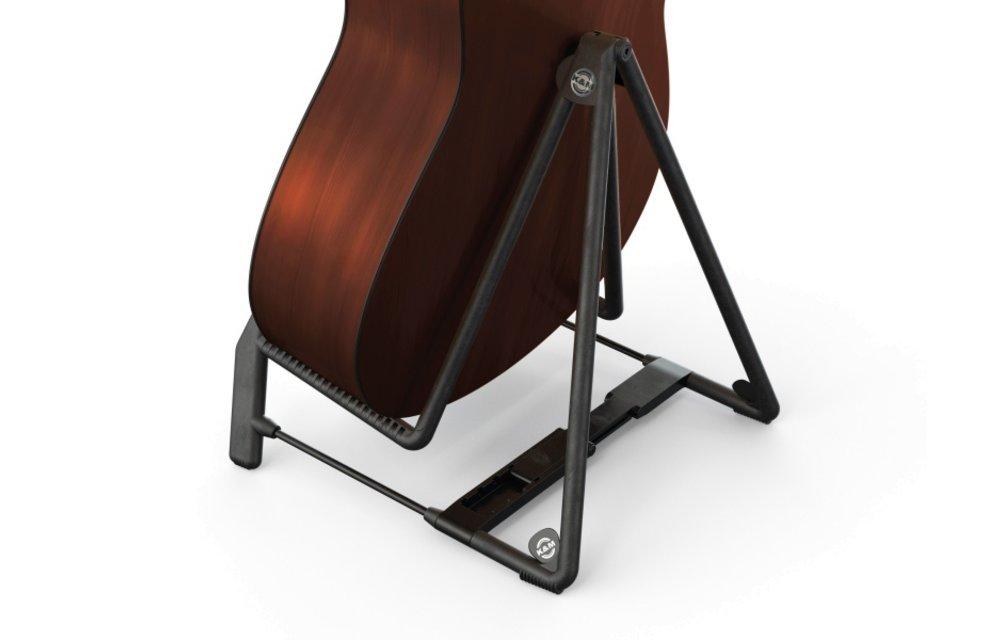 König & Meyer Heli 2 A-Frame Acoustic Guitar Stand, Black