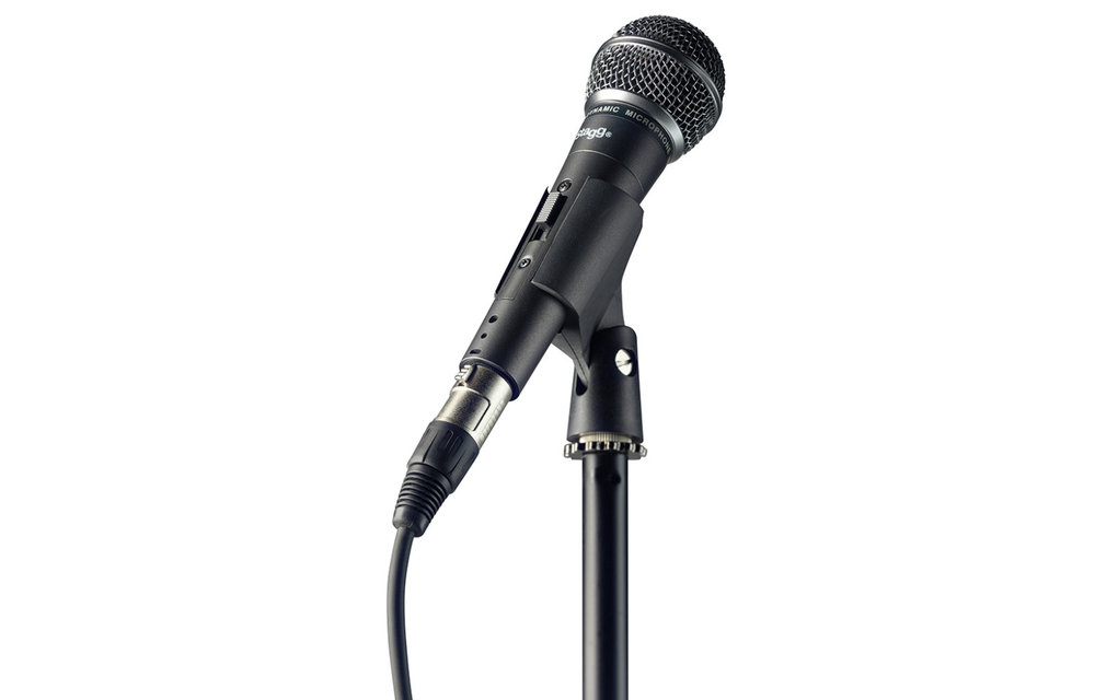 Stagg Microphone Stand, Cable and Clamp Set