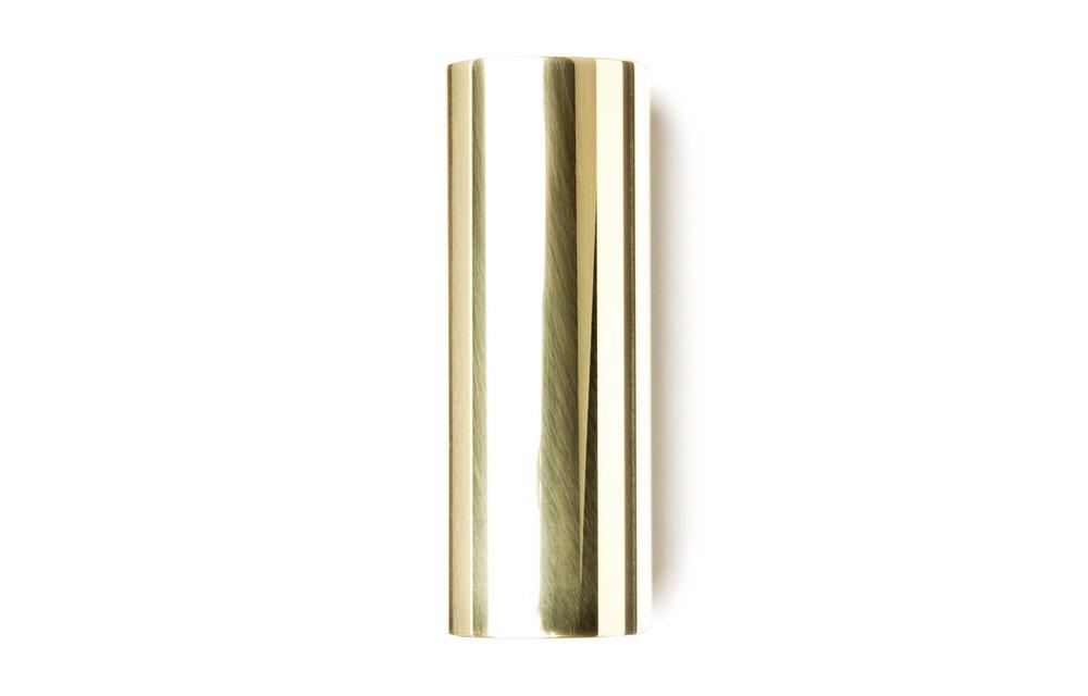 Dunlop 222: Brass Slide, Medium Wall