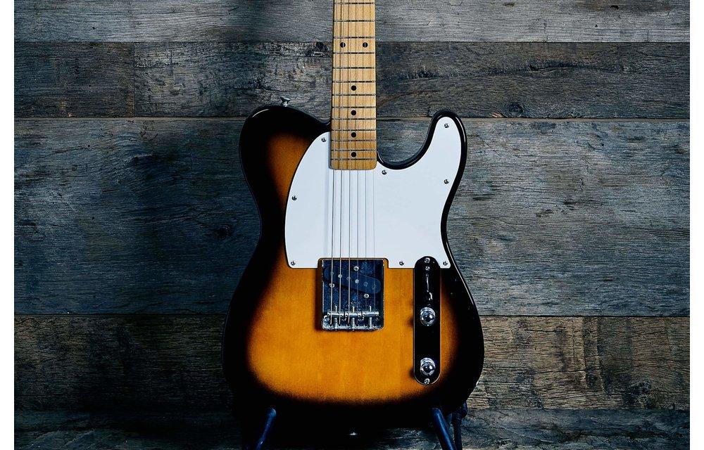 Fender Esquire 50s Reissue, Made in Japan, 2 Tone Sunburst w/Gig Bag