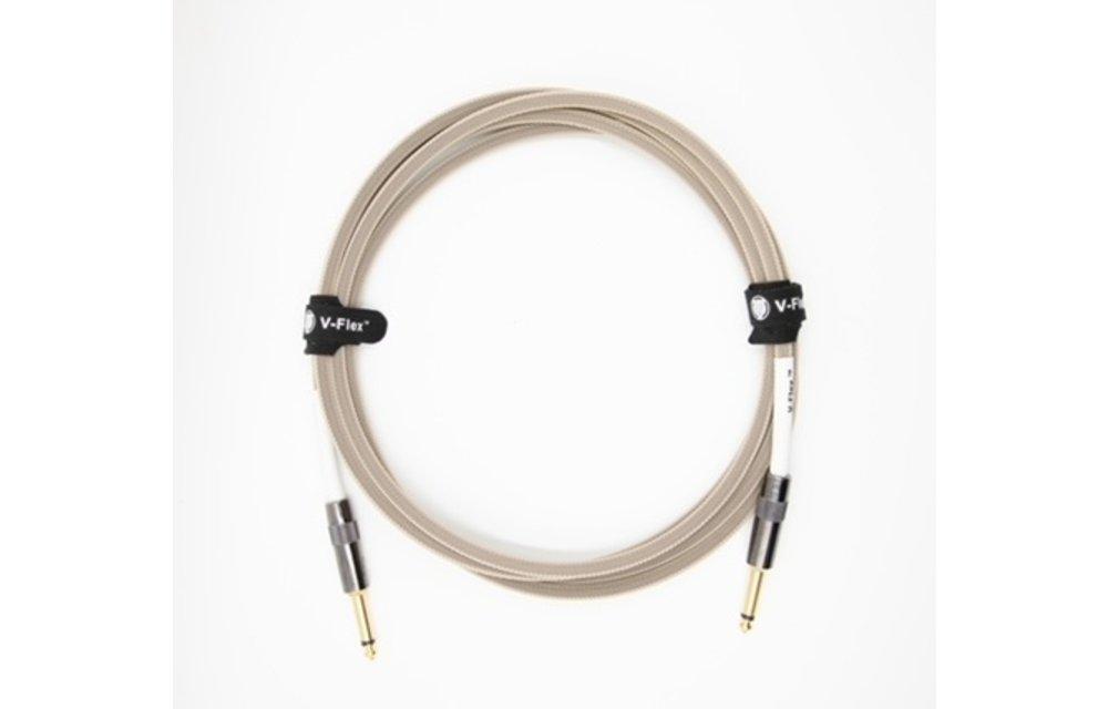 Voltage V-Flex Guitar Cable, 3m, Wheat