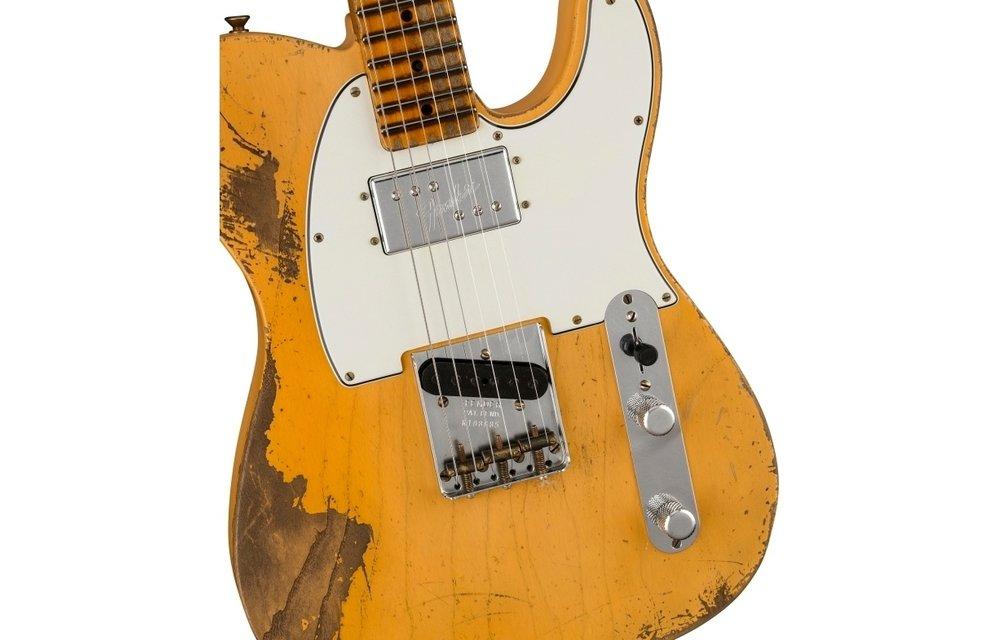 Fender Custom Shop Custom '74/'51 Nocaster, Masterbuilt by Ron Thorn, Heavy Relic Nocaster Blonde
