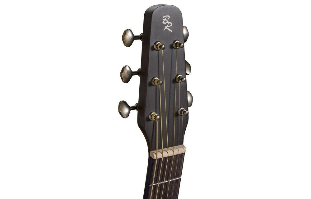 Baton Rouge L1LS/F-AB Spruce/Mahogany Folk Style Acoustic Guitar, Antique Burst