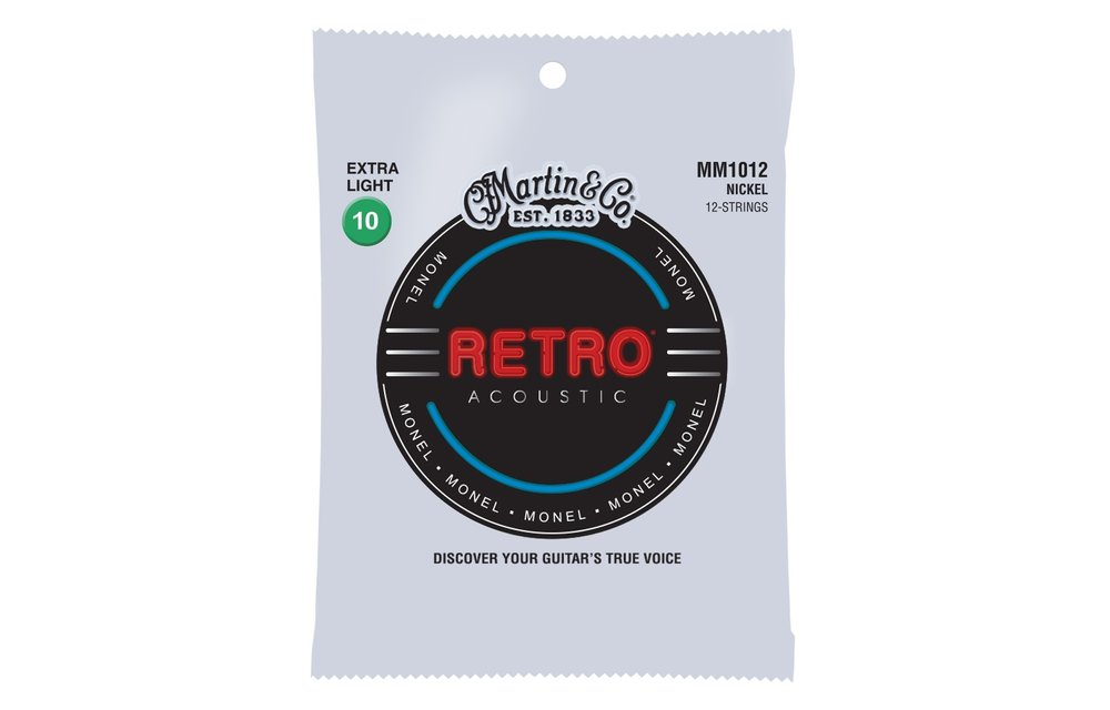 Martin Retro Acoustic Guitar Strings