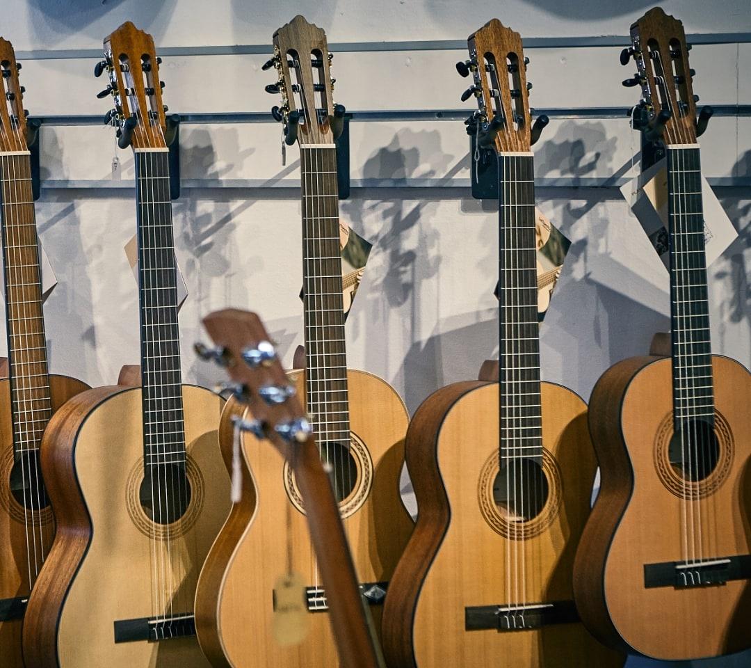 Classical Guitars at Sunburst Music