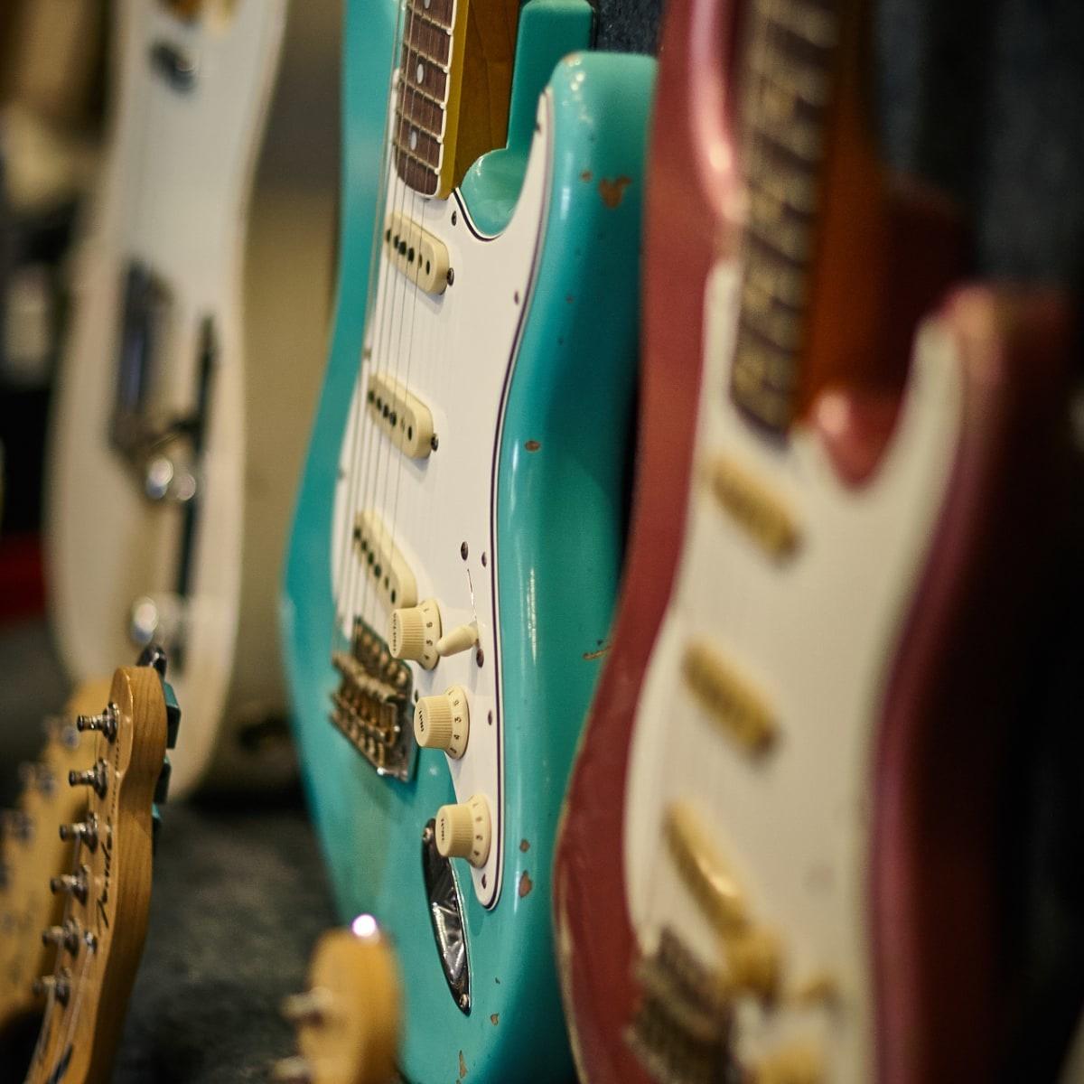 Electric Guitars at Sunburst Music