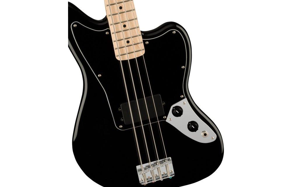 Squier Affinity Series Jaguar Bass H, Maple Fingerboard, Black