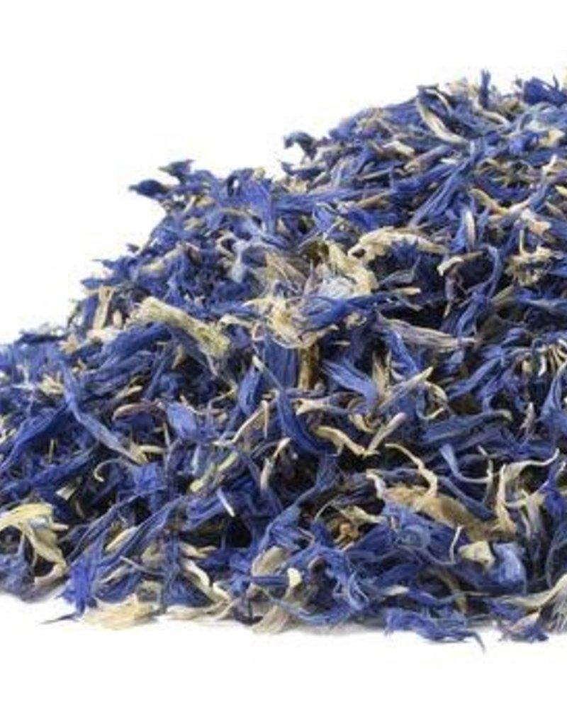 Golden Poppy Herbs Blue Cornflowers, organic, bulk/oz