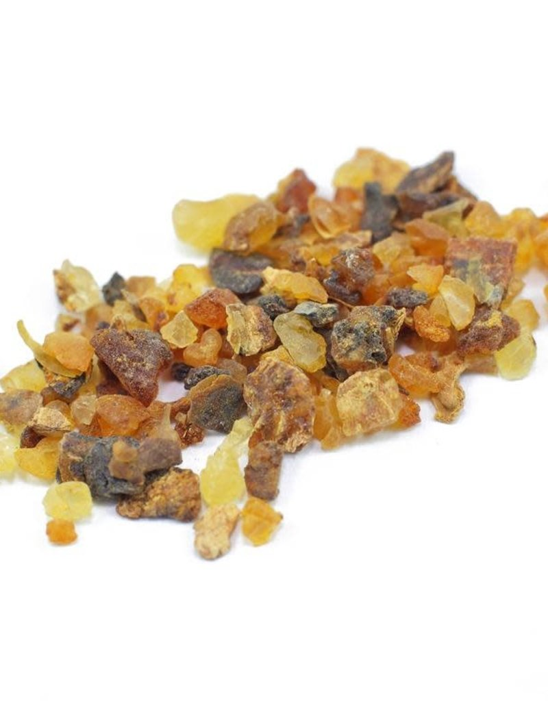 Golden Poppy Herbs Myrrh Resin, Wild-crafted, bulk/oz