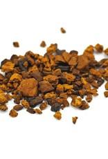 Golden Poppy Herbs Chaga Mushrooms, Wild Crafted, Cut, bulk/oz