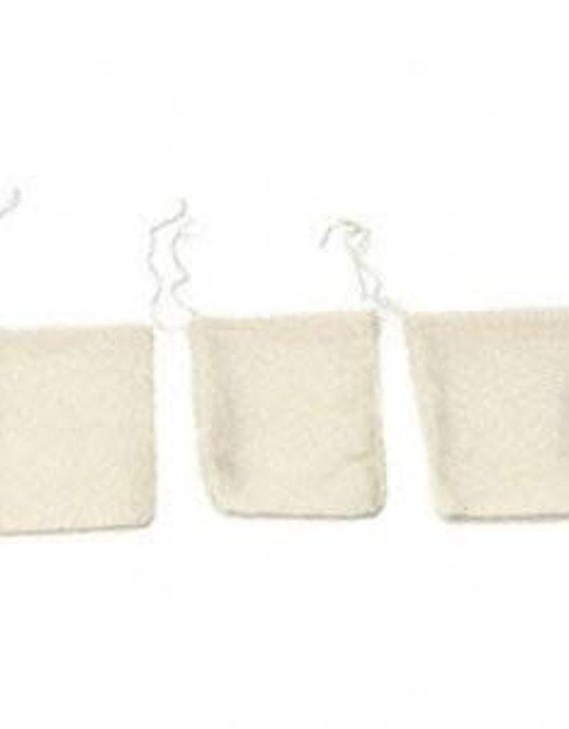 """Golden Poppy Herbs 3"""" x 5"""" muslin bag"""