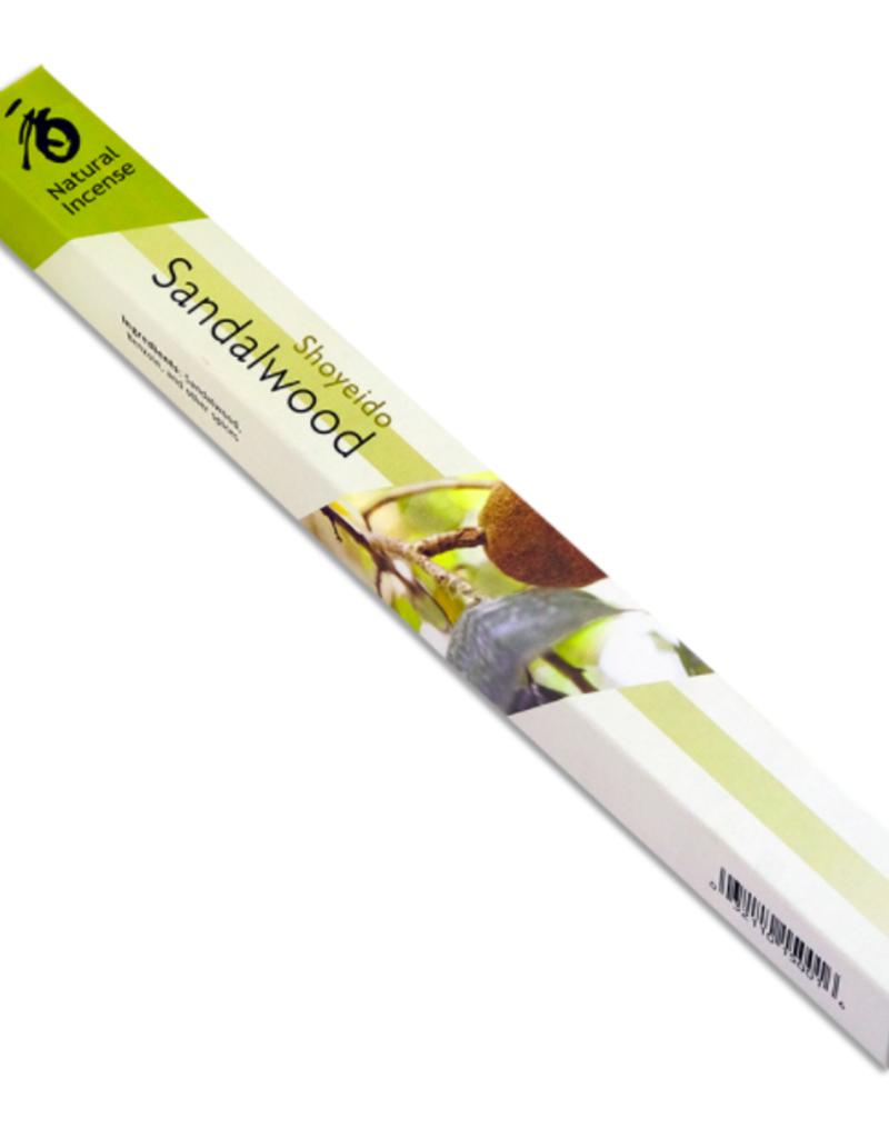 Golden Poppy Herbs Sandalwood Incense Sticks - Shoyeido