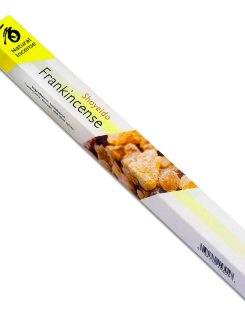 Golden Poppy Herbs Frankincense Incense Sticks - Shoyeido