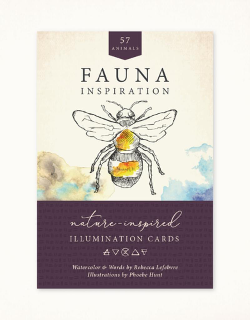 Golden Poppy Herbs Fauna Inspiration Deck - Avec La Vie
