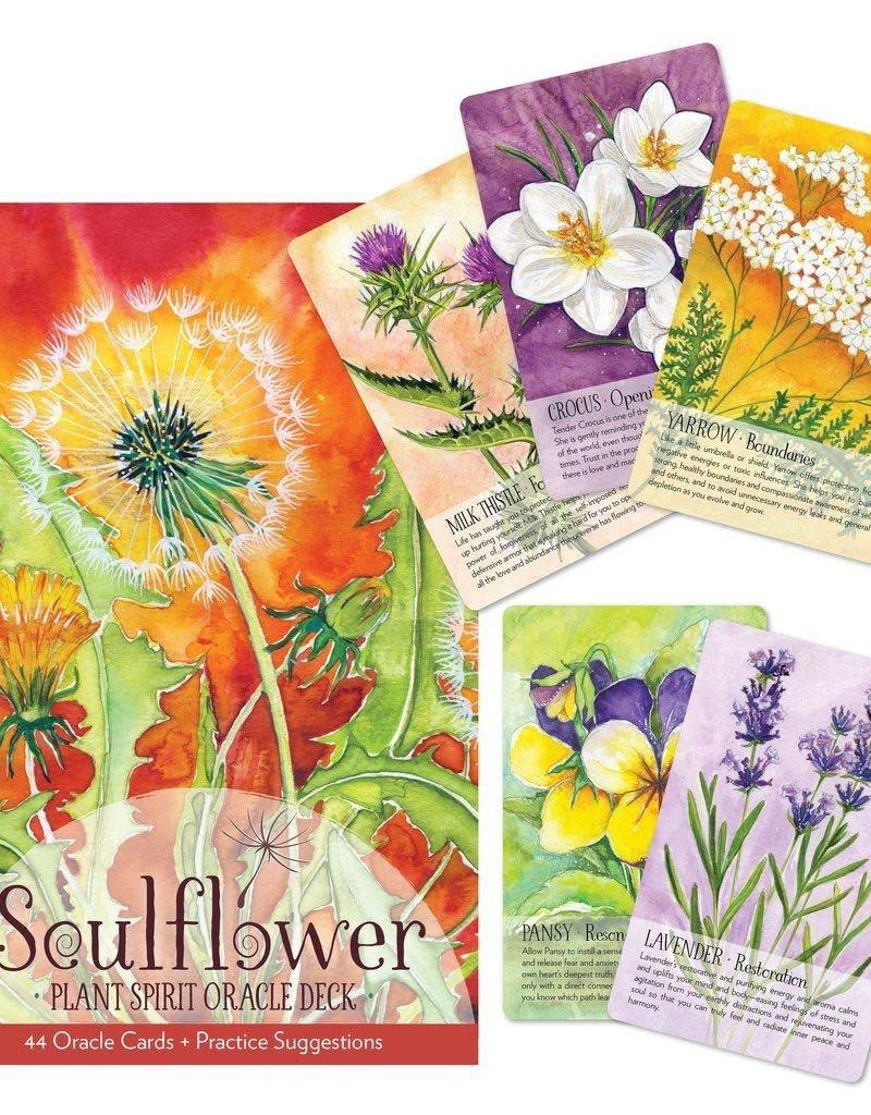 Golden Poppy Herbs Soulflower Plant Spirit Oracle Deck