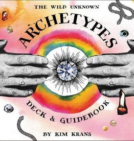 Golden Poppy Herbs The Wild Unknown Archetypes Deck and Guidebook - Kim Krans