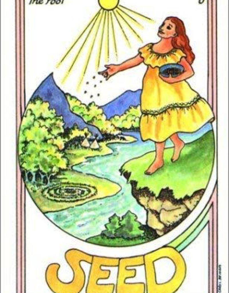 Golden Poppy Herbs Medicine Woman Tarot Deck