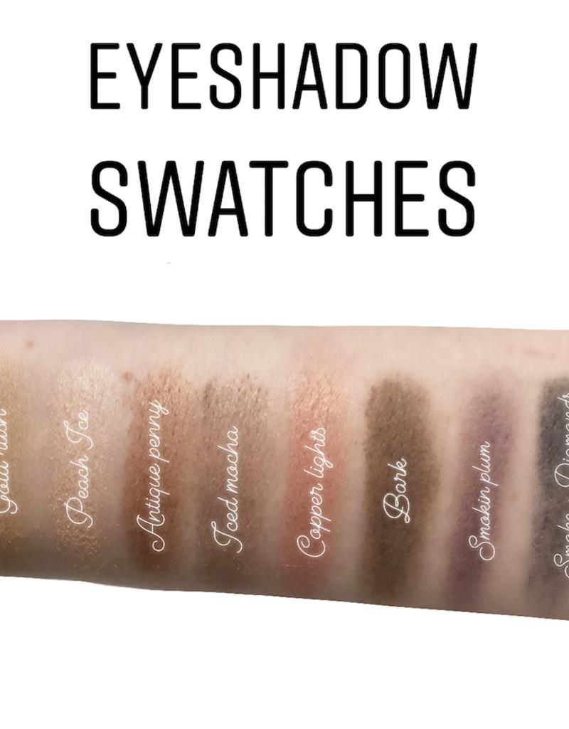 Golden Poppy Herbs Eyeshadow - Smokin Plum - Aisling Organics