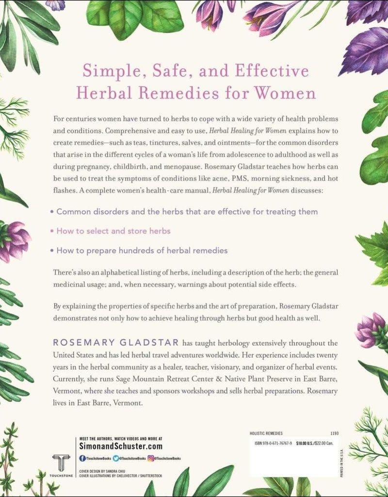 Golden Poppy Herbs Herbal Healing for Women - Rosemary Gladstar