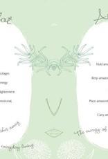 Golden Poppy Herbs Little Pocket Book Of Crystal Chakra Healing - Philip Permutt